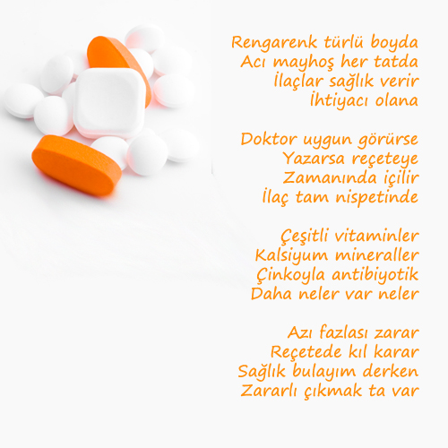 ilaç şiiri